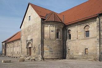 Petersberg Citadel - St Peter's Church built 1103-1147