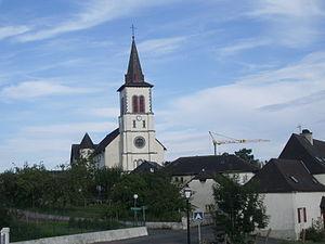 Esquiule - The church of Esquiule