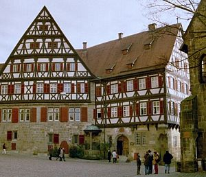 German Timber-Frame Road - Image: Esslingen kesslerhaus gr