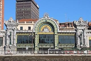 Bilbao-Concordia railway station