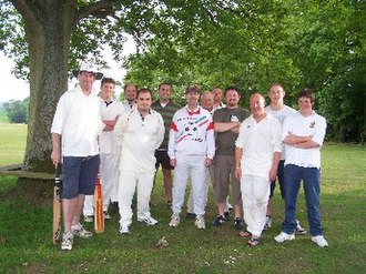 Etchingham - The newly formed team after their first match