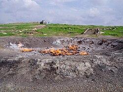 Eternal Fire of Baba Gurgur, Kirkuk, Iraq - P3110004.jpg