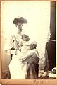 Ethel Hook and baby John, February 1907 (6629925543).jpg