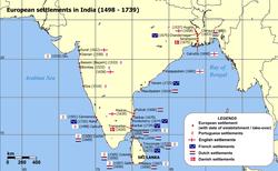 インドにあったヨーロッパ諸国 ...