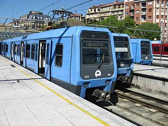 Metro Donostialdea - Image: Euskotren San Sebastián 1