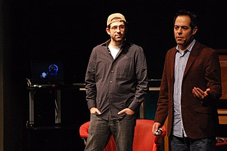JibJab - Image: Evan & Greg Spiridellis of Jib Jab