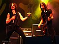Extreme (band) Gary Cherone and Nuno Bettencourt Southpark Festival, Finland, 2015 01.jpg