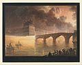 Fête pour la Paix Générale donnée à Paris le 18 Brumaire. Pont du Carrousel. MET DP324363.jpg