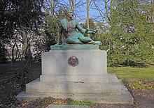 Kleist-Denkmal von Gottlieb Elster in Frankfurt (Oder), 1910 (Quelle: Wikimedia)