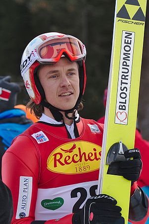 Mikko Kokslien - Image: FIS Worldcup Nordic Combined Ramsau 20161217 DSC 7572
