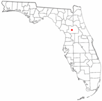 Location of Silver Springs, Florida