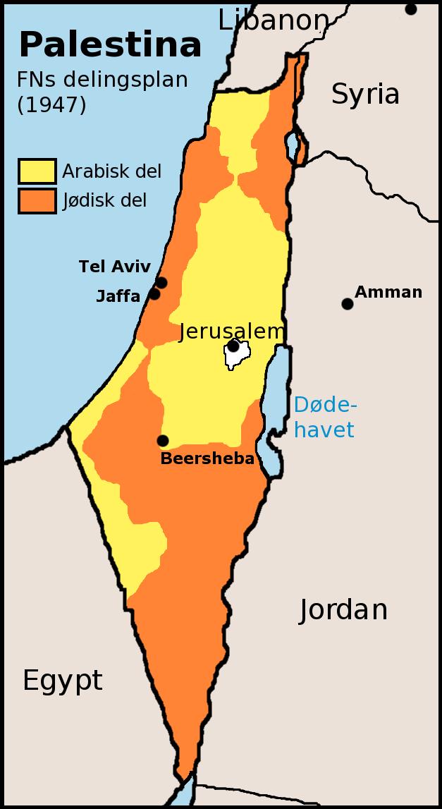 FNs delingsplan for Palestina 1947