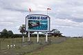 FOF Sign and Douglas DC-3 Close 15thAnny FOF 28Nov2010 (14627426641).jpg