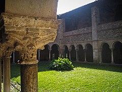 Le cloître de la Cathédrale Saint-Lizier de Saint-Lizier