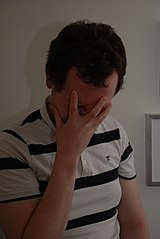 Facepalm - By Vesa Linja-aho (Own work), CC-BY-3.0, via Wikimedia Commons