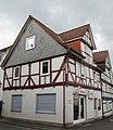 Fachwerkwohnhaus von 1691 einer Hofanlage - Eines der ältesten Gebäude im Ort - Meinhard-Grebendorf Kirchstraße 16 - panoramio.jpg