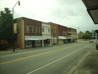 Fairmont, North Carolina - Main Street