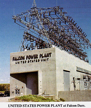 Falcon Dam - The U.S. Power Station