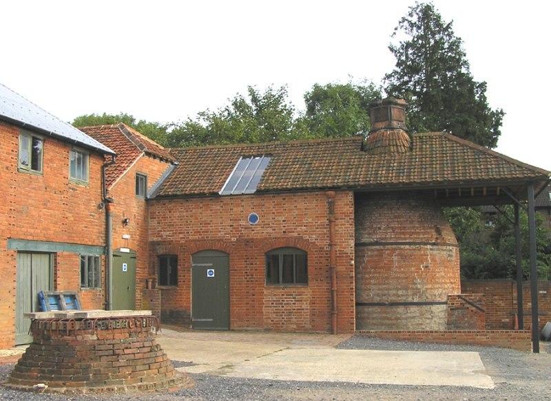 Farnham Pottery, Wrecclesham - bottle kiln