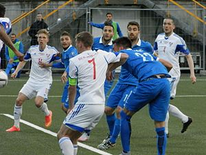 Faroe Islands national football team - Faroe Islands defeated Greece 2-1 on 13 June 2015.