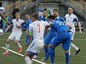 Faroe Islands national football team - Faroe Islands defeated Greece 2-1 on 13 June 2015.