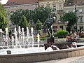 Faunok szökőkút (ifj. Blaskó János, 2006) részlet, Fő tér, 2010-07-23 Szombathely - panoramio (4).jpg