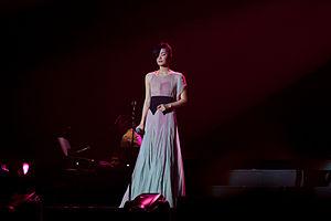Faye Wong - Faye Wong in concert, Hong Kong, 2011.