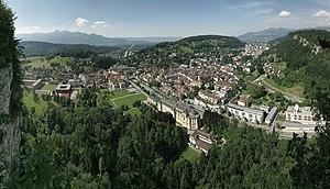 Feldkirch, Blick vom Stadtschrofen
