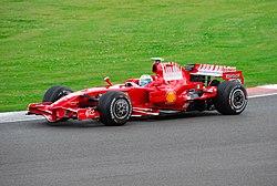 Massa 2008-ban Silverstone-ban