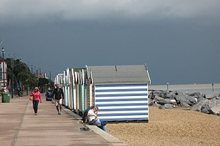 Felixstowe town in Suffolk, England