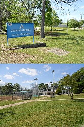 Felton Little Park - Image: Felton Little Park Auburn Alabama