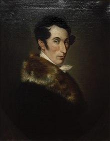 Carl Maria von Weber, Porträt von Ferdinand Schimon, 1825 – Dresden, Städtische Galerie (Quelle: Wikimedia)