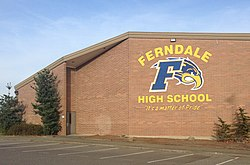 ferndale high school washington wikipedia