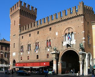 Ferrara - The 15th-century Town Hall