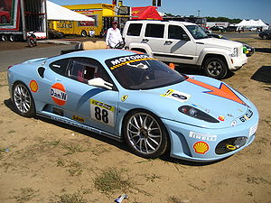 Ferrari Challenge - A Ferrari F430 Challenge car used in the North American series.