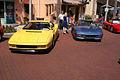 Ferrari Testarossa 1990 Yellow Beside Ferrari F355 1998 GTB CECF 9April2011 (14600853685) (2).jpg