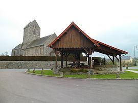The Wine Press and the church of Saint-Pierre