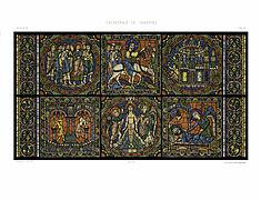 Feuille D Monografie de la Cathedrale de Chartres - Atlas - Vitrail de la vie de Jesus Christ - Restored Version 73--2.jpg