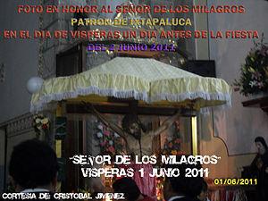 Español: Fto tomada en el dia de la fiesta pat...
