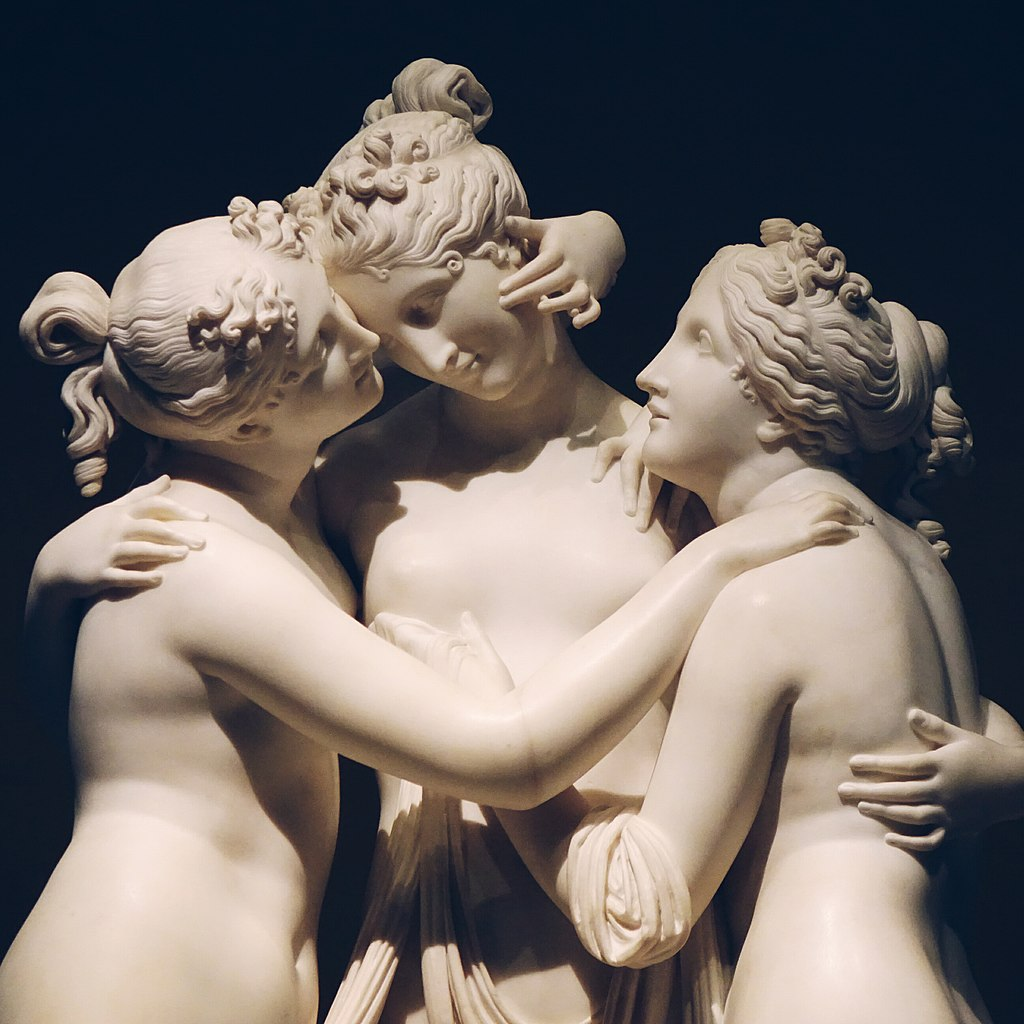 """The Three Graces"" by Antonio Canova"