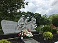 Firefighter memorial in Pittston, Pennsylvania.jpg