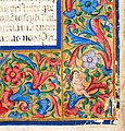 Firenze, breviarium monasticun sec. regulam s. benedictis abbatis, copiato da costanza e miniato da angela di antonio de' rabatti, 1518 (conv. s. 90) 05.jpg