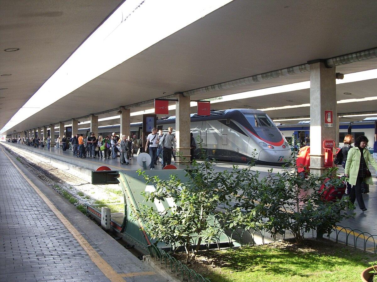 サンタマリアノヴェッラ駅・電車