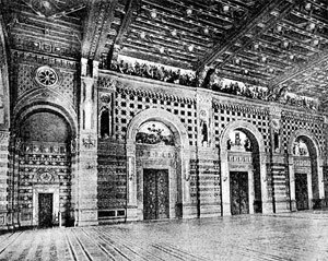 Odessa Philharmonic Theater - First photo of the Theater (February 7, 1899)