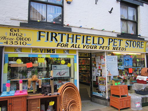 Firthfield Pet Store, Northwich