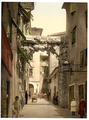 Fiume, a Street, Croatia, Austro-Hungary WDL323.png