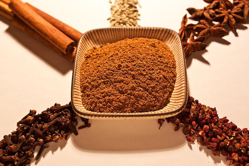 Five spices detailed
