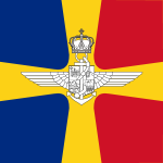 Flag of Romanian Air Transport and Marine Minister (WWII).svg