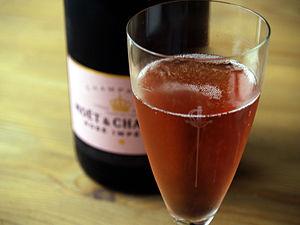 Rosé - A sparkling rosé Champagne.