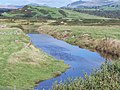 Flooded drainage channel on the Ystumllyn flats - geograph.org.uk - 1482242.jpg